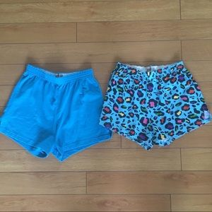 2 Pair Soffe Shorts